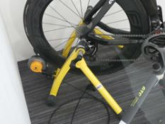 Yellow Hypermag cycle trainer
