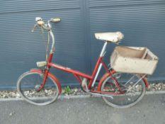 Orange 20 ladies vintgae bike