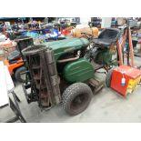 4316 Ransomes triple rotor heavy duty ride on lawnmower