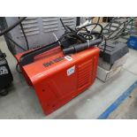 Power 140 welder with mask