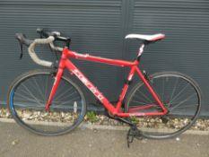 Red Carrera racng bike