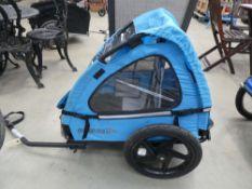 Blue Smoky Joe bike trailer