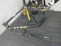 Cube Pro GTC Attin carbon fibre frame and forks