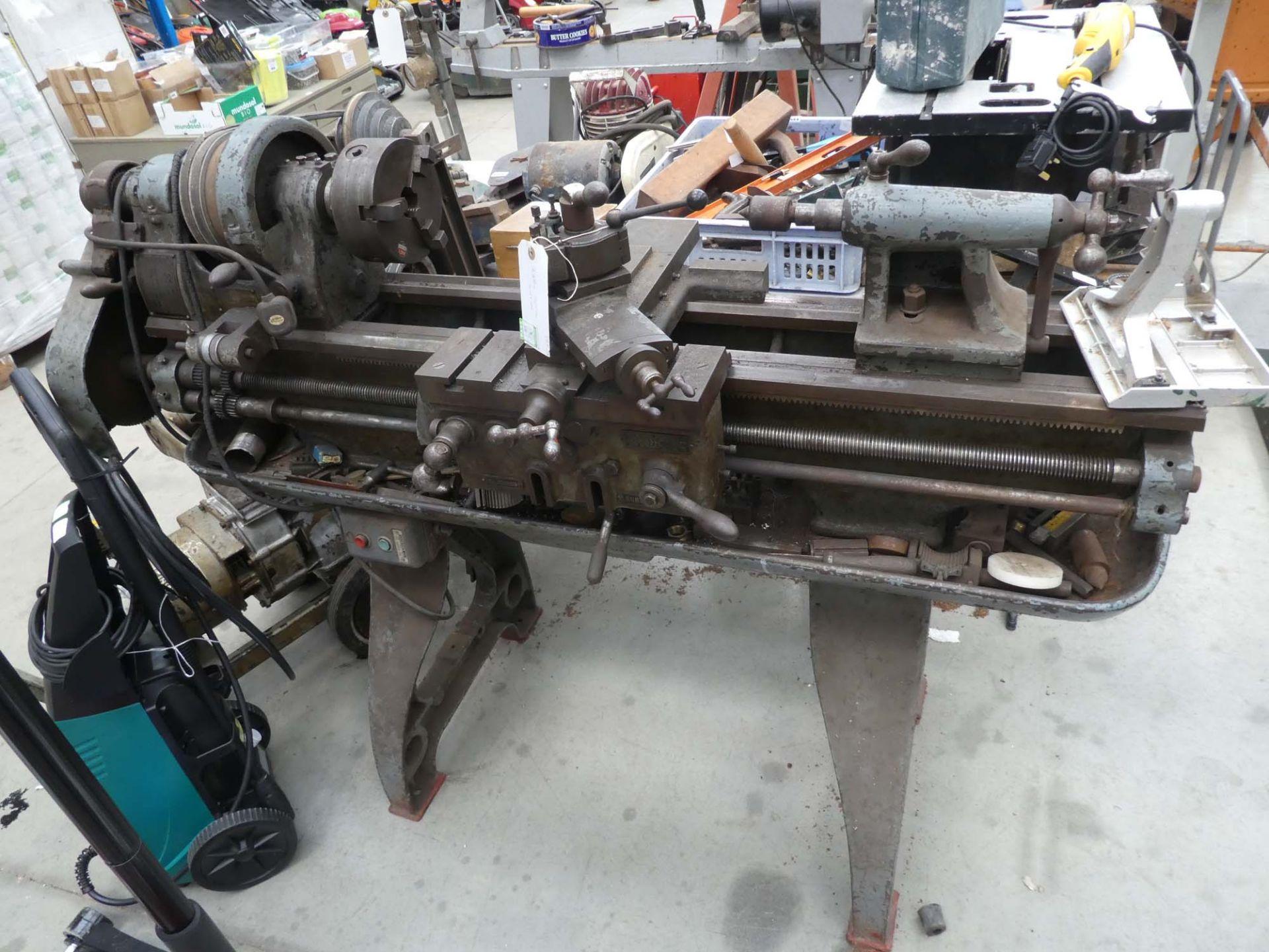 240V metal working lathe