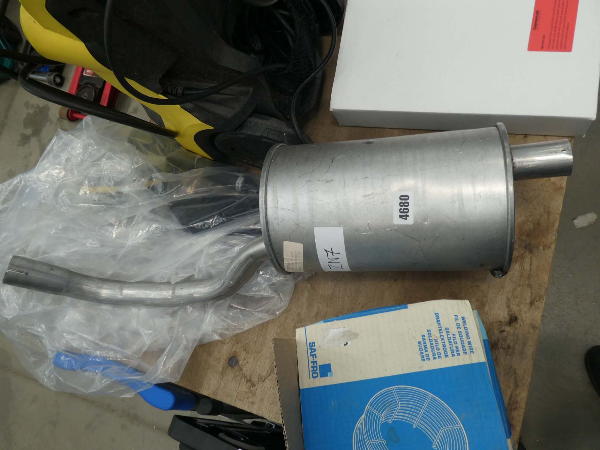 4511 Exhaust box for Fiat 500 and Ford KA - Image 2 of 2