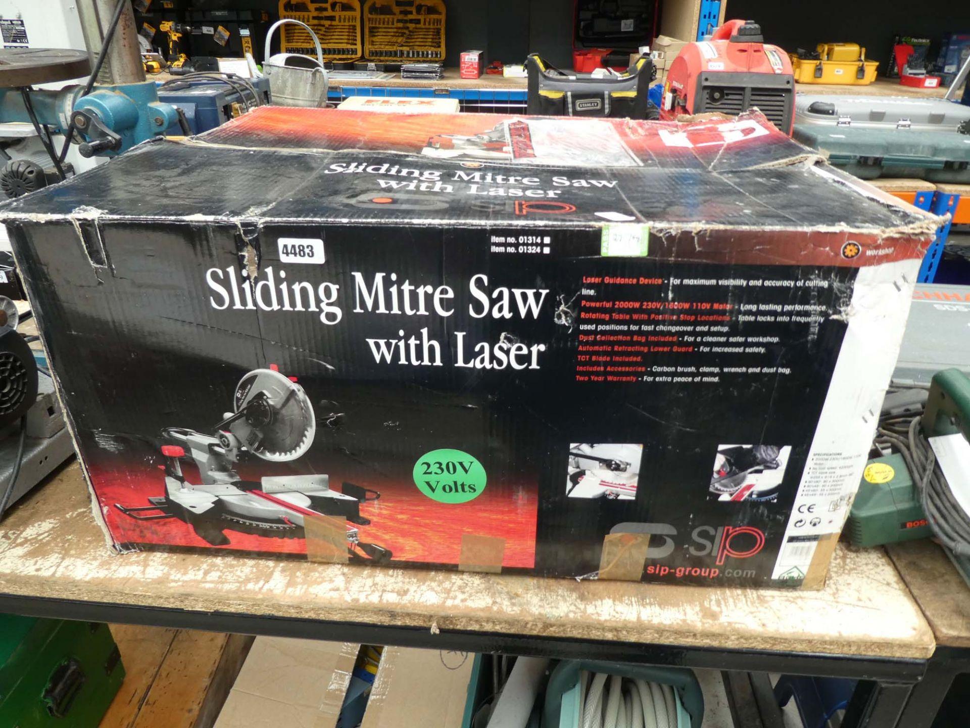 Boxed SIP 10'' sliding mitre saw