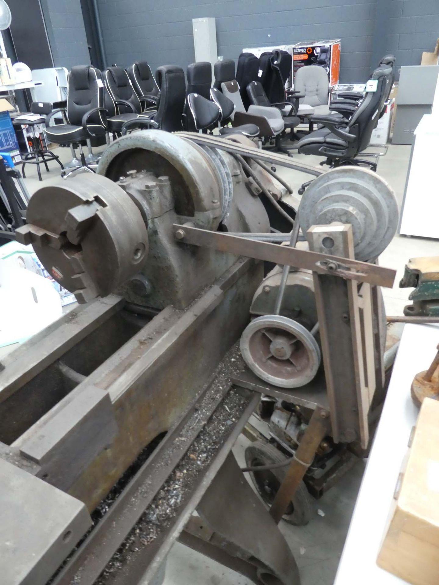 240V metal working lathe - Image 2 of 2