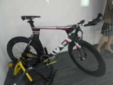 Cervelo P5 carbon fibre Specialist racing bike