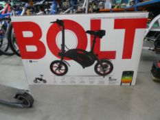 Bolt boxed electric bike with charger