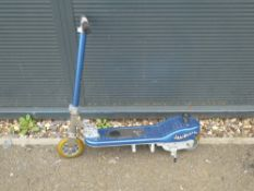 Blue Jambuster scooter