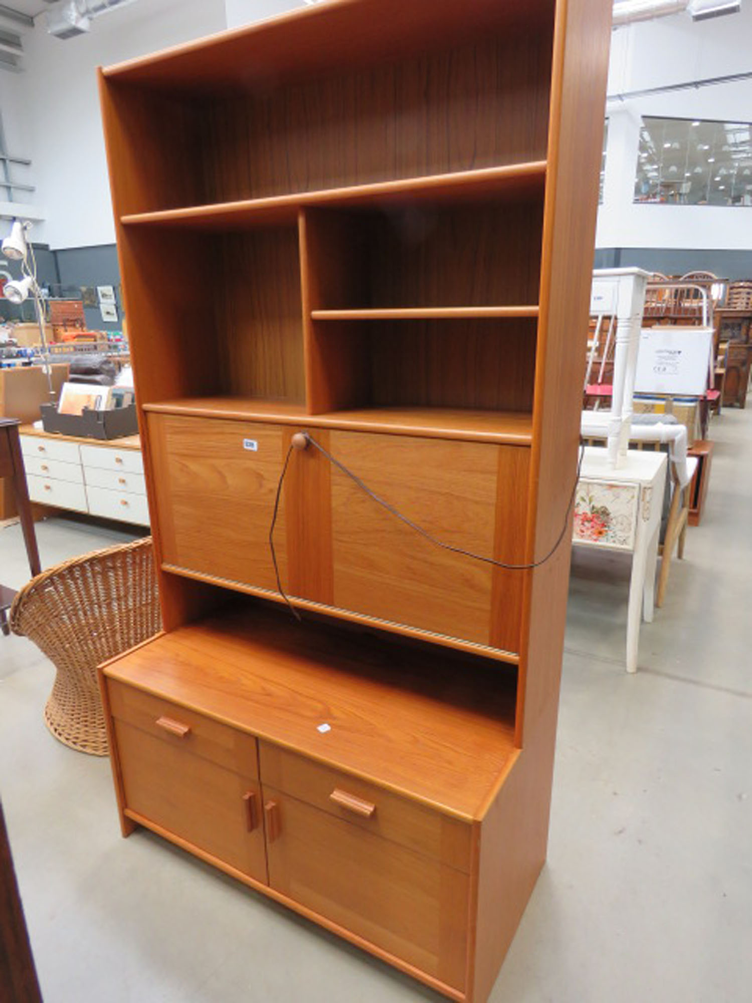 Teak 1970's dresser