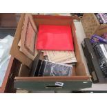 Box containing certificated and ephemera