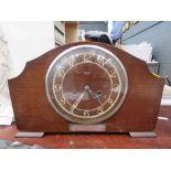 Smiths long service mantle clock