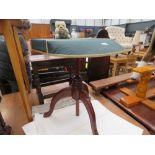 Tripod sewing table