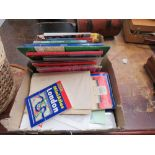 5468 Box containing ordnance survey and other maps