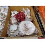 RR 219 - A Japanese Export eggshell porcelain tea service decorated with geisha in traditional