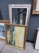 2 oil paintings of The Seashore