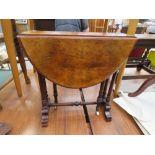 walnut Sutherland table