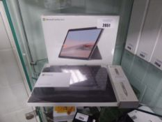 Microsoft surface go 2 Windows 10 tablet, intel pentium gold processor, 64gb storage, 4gb ram