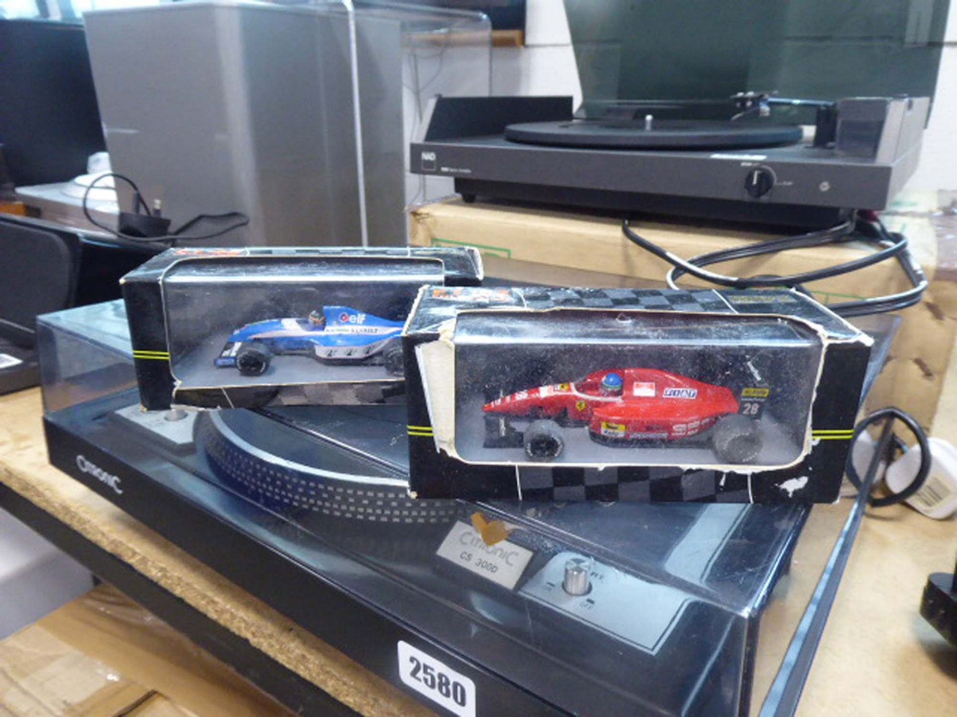 Qty of F1 and other racing die cast model vehicles - Image 2 of 2