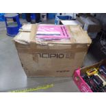 Box containing a qty of folio cases