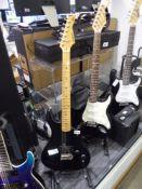 2024 Kawai 6 string electric guitar in black