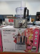 (45) Kenwood Multi Pro Compact Plus food processor with box