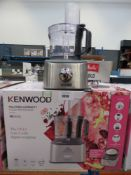 (44) Kenwood Multi Pro Compact Plus food processor with box