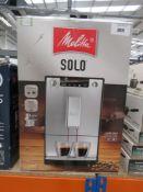 (31) Malita Solo coffee machine with box Item is used