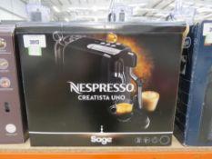 (33) Nespresso Sage coffee machine with box