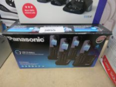 Panasonic Link to Mobile PayXTGH264 phone set