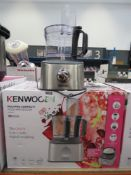 (43) Kenwood Multi Pro Compact Plus food processor with box