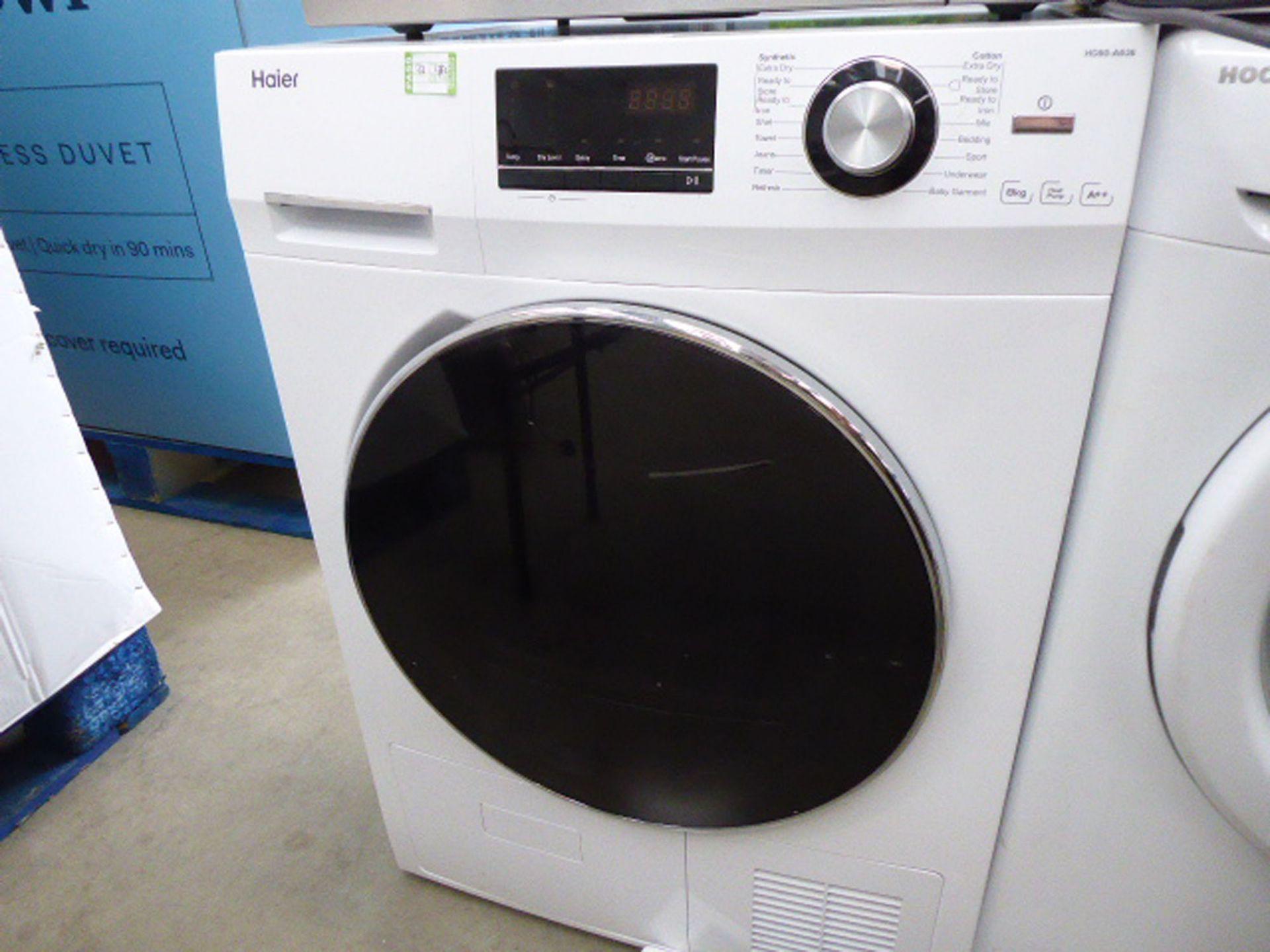 (142) Haier tumbler dryer