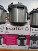 (40) Instant Pot multi use pressure cooker with box