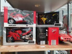 Honda, Susuki, BMW and other various motorbike models