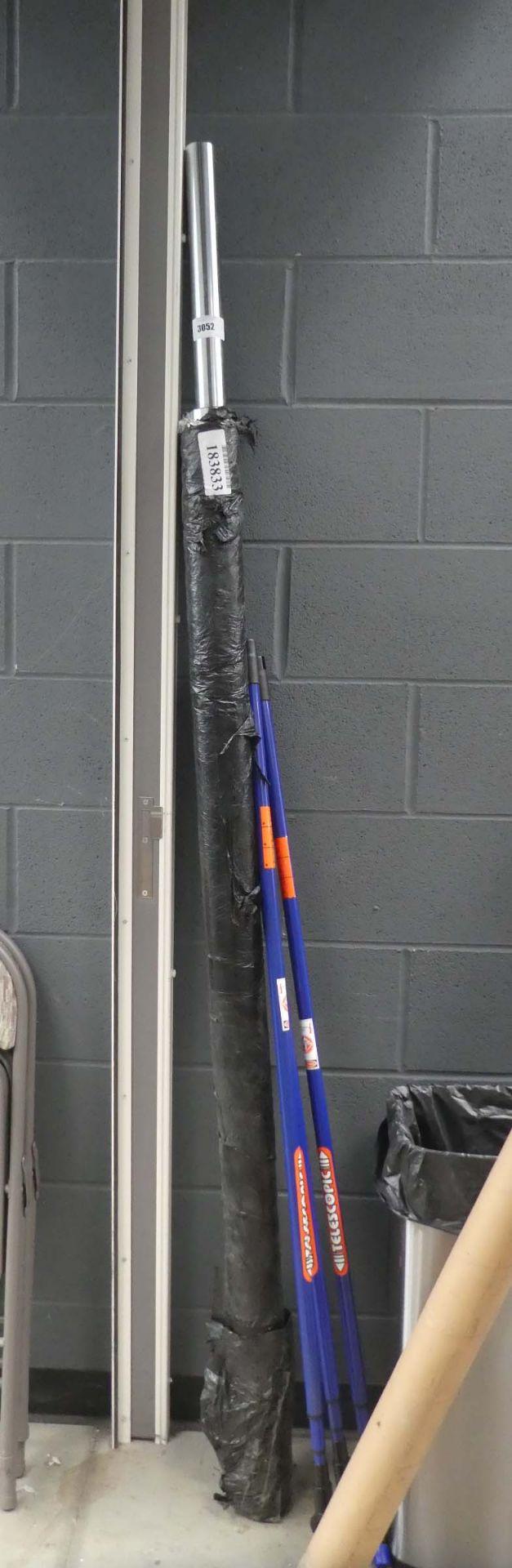 2 Olympic bench press bars