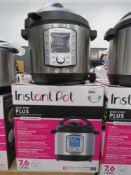 (42) Instant Pot Duo Evo Plus pressure cooker with box