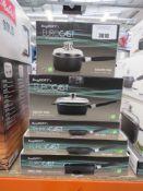 5 x Berghoff Eurocast Professional series pots and pans incl. saute pan, fry pan etc.