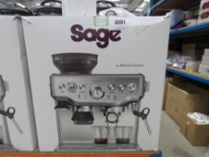 Sage Barista coffee machine with box