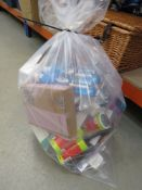 Large bag of mixed items incl. Philips Sonic toothbrushes, makeup gloss, thermal infrared