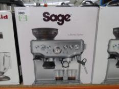 Sage Barista coffee machine with box (30)