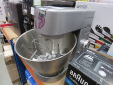 (56) Kenwood standing mixer plus 3 attachments