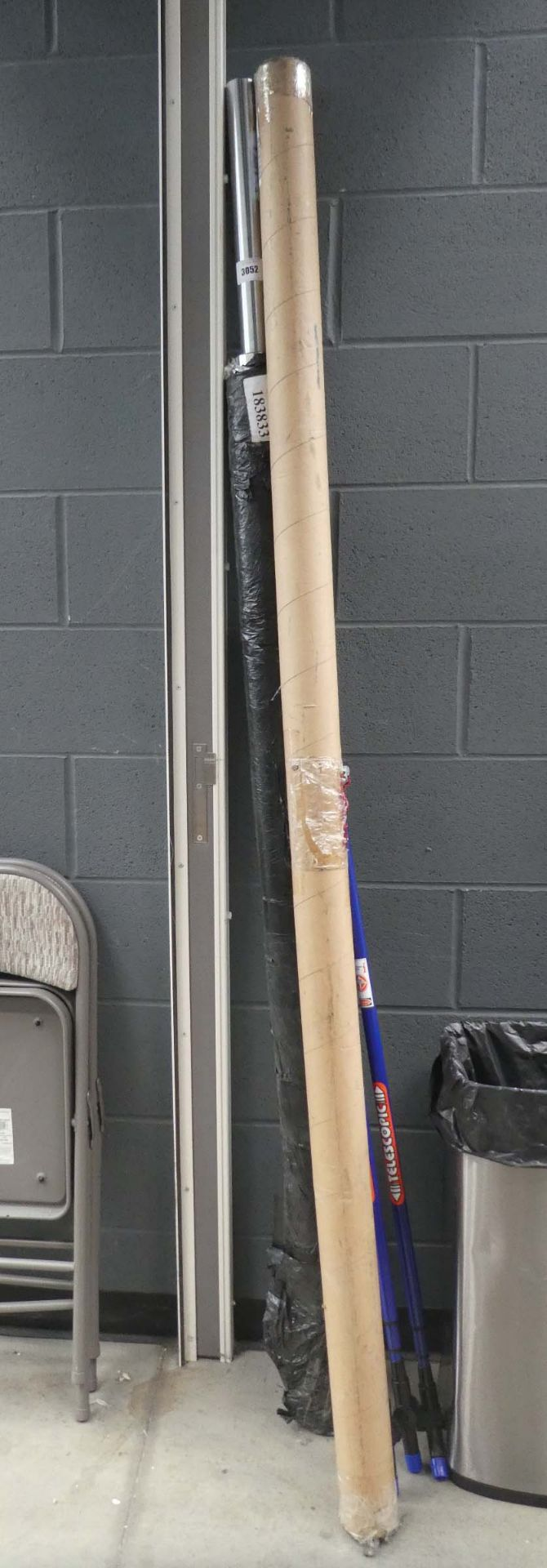 2 Olympic bench press bars - Image 2 of 2