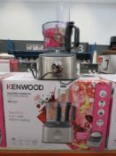 (3) Kenwood Multi Pro Compact Plus food processor with box