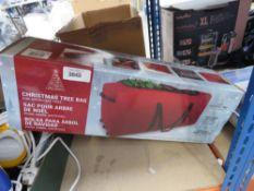 Christmas tree bag with box