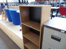 Open front bookcase, 60cm wide