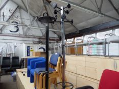 2 at and coat stands
