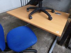 Small workstation, 127cm wide