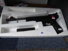 Cased SMK S32 Break barrel .177 pellet air pistol