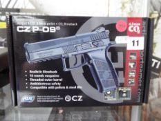Boxed CZ P-09 C02 .177 metal BB air pistol